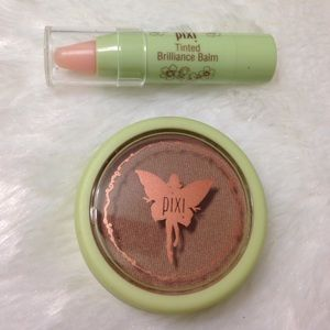 Pixi beauty bronzer and tinted lip balm