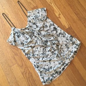 Express tank with metal straps. Size S. NWOT