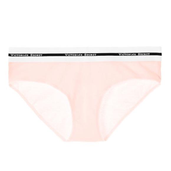 371daf8410 New Victoria s Secret Logo Hiphugger Panties - L. NWT