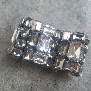 H&M Jewelry - H&M Faux Gem Statement Bracelet