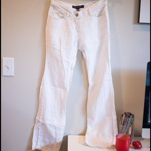 French Connection linen pants