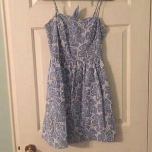 Lilly Pulitzer chambray dress