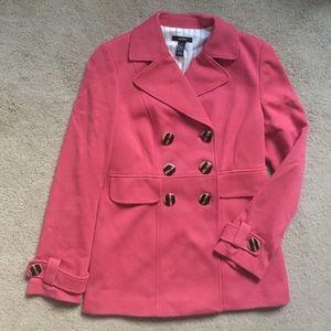 Alfani Jackets & Blazers - Women's Alfani Lightweight Lined Coat Pink Size 4