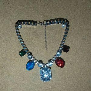 Chic Rhinestone Statement Necklaces
