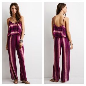 Forever 21 Pants - Striped 70's jumpsuit