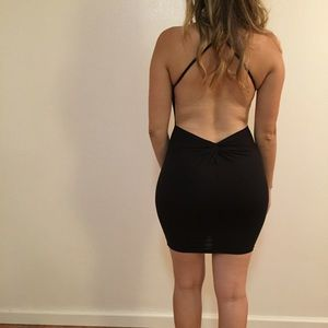 •RESTOCKED• Criss Cross Back Halter Dress