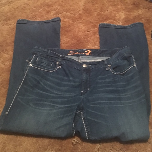 67% off Seven7 Denim - Seven 7 plus size jeans. Gently used. from