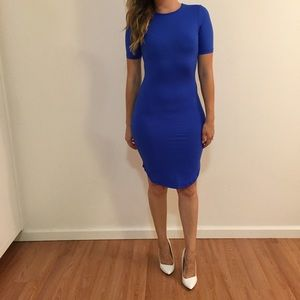 Dresses & Skirts - Cobalt Curved Hem Midi Dress