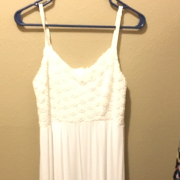 Maurices - White maxi dress from Crystal\'s closet on Poshmark