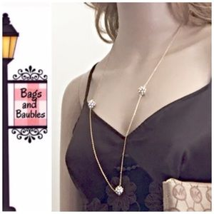 kate spade Jewelry - KATE SPADE Pave the Way Scatter Necklace