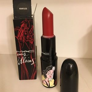 "MAC venomous villains ""Heartless"" lipstick"