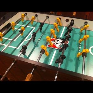Toronado Tournament Foosball table Refurbished for sale