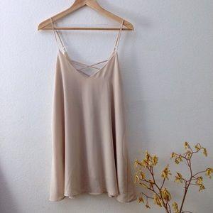 Tobi Dresses & Skirts - Tobi Cream Bright Morning Dress