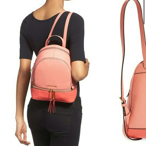 03a5a54e77d7 michael kors michael rhea zip medium backpack