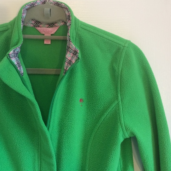 Lilly Pulitzer Jackets & Coats - 💖LOWEST💖Lilly Pulitzer zip up fleece jacket