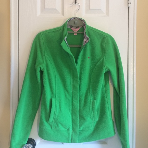 Lilly Pulitzer Jackets & Blazers - 💖FINAL💖Lilly Pulitzer zip up fleece jacket