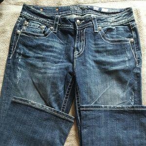 Miss me jeans, boot cut, 32