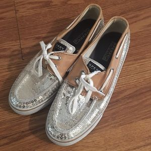 Sequins Sperrys Size 9