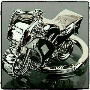 SALE Jewelry - Motorcycle 3D Metal Key Chain