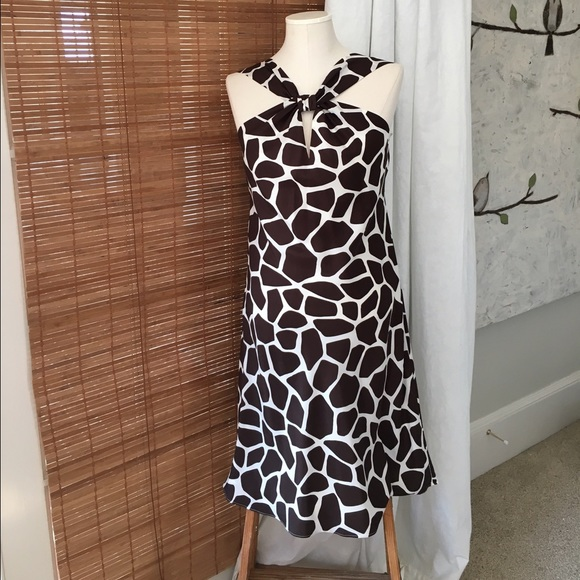 5ee53df624 Banana Republic Dresses   Skirts - Banana Republic Giraffe Animal Print  Dress ...