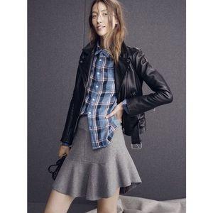 Madewell Atelier Skirt Gray