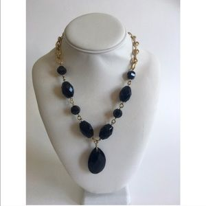ANTONIO MELANI Jewelry - 💖HP💖 Antonio Melani Black and Gold necklace.