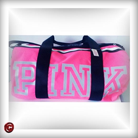 b9d023ef5f PINK VS Reflective Duffle Bag. NWT. PINK Victoria s Secret
