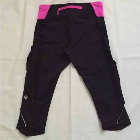 ffddc13694 lululemon athletica Pants | Lululemon Ruffle Capri Knee Length ...