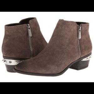 Sam Edelman Shoes - Sam Edelman Circus Holt Booties in Ash/Walnut