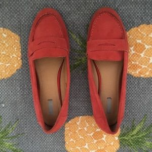 Cooperative Shoes - Cooperative suede coral loafers - worn once