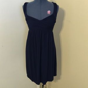 Navy Blue Max Studio sun dress - size Med