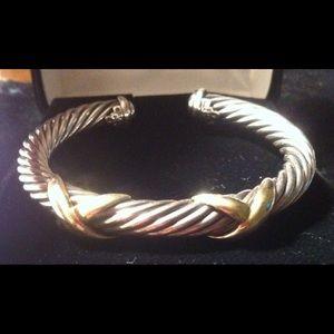 David Yurman Jewelry - Authentic David Yurman X Collection Bracelet