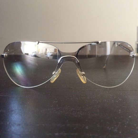 da39f285780 ... Dior Accessories Christian Silver Mini Aviator Sunglasses Poshmark