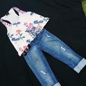 Vigoss capris jeans