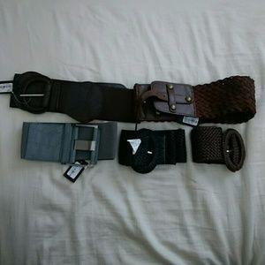 Forever 21 wide belt bundle (5 belts) size S/M