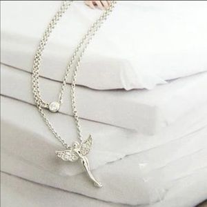 Jewelry - 🎉SALE🎉💫Silver Fairy Necklace💫