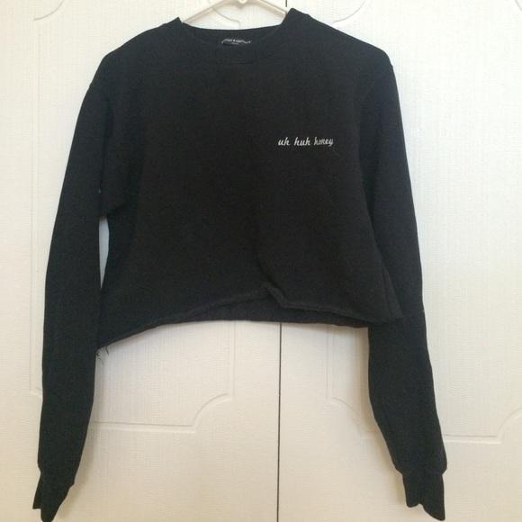 Brandy Melville Tops Uh Huh Honey Sweatshirt Poshmark