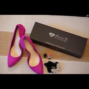 BCBGeneration Shoes - Pink BCBG leather heel size 7.5