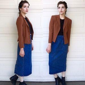 Vintage Fitted Blazer