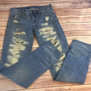 Blank NyC torn Distressed Jeans