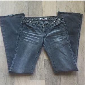 Rockin Fornarina Grey Denim Jeans Size 28