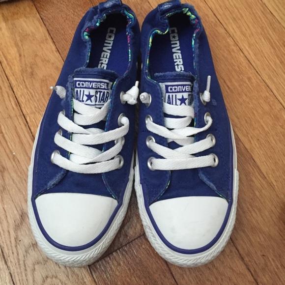 Blue Converse Sneakers Kids Size