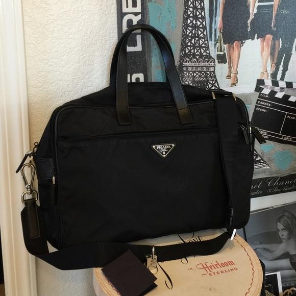 fdb4543a6c81 ... PRADA Viaggio Briefcase Suitcase Bag. M 575de6142599fe28f000e48d