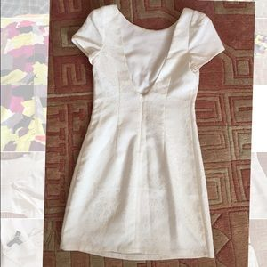 Ladakh Dresses - Ladakh white low back dress