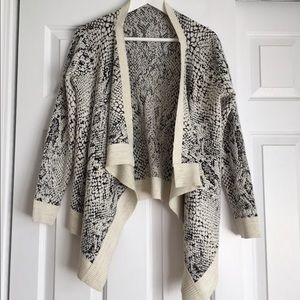 Snake Pattern Sweater