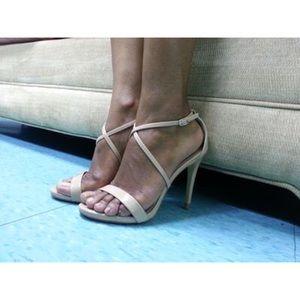 b153504073c Steve Madden Feliz Sandal in Matte Nude