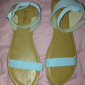 Strappy Sandals Baby Blue