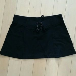 Black Hard Tail skirt