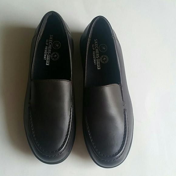 29 skechers shoes skechers work slip resistant