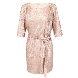 Jessica Simpson Dresses & Skirts - Jessica Simpson Sequin Belted Dress